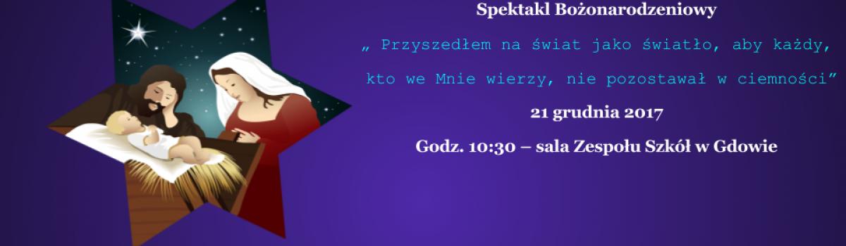 Zaproszenie na Jasełka 2017