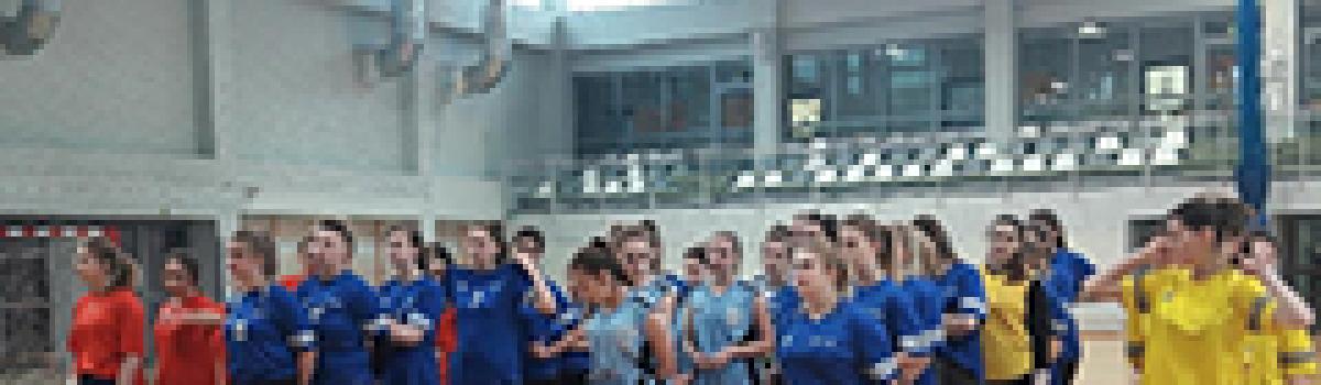 Powiatowy turniej halowej Piłki Nożnej dziewcząt w Wieliczce