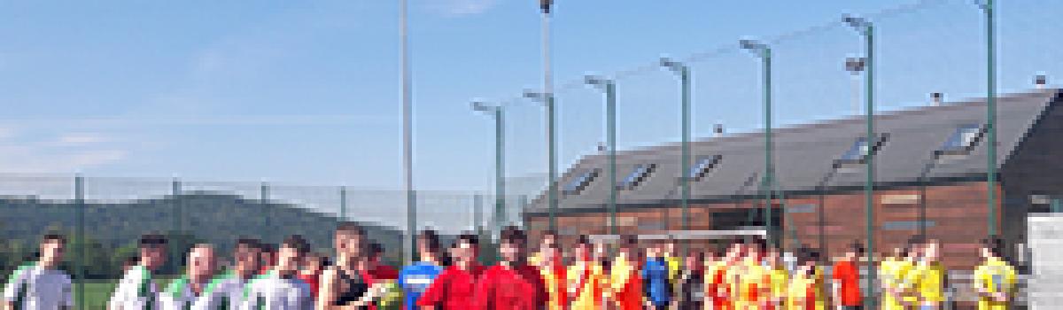 Powiatowy Turniej Piłki Nożnej Chłopców na Orliku