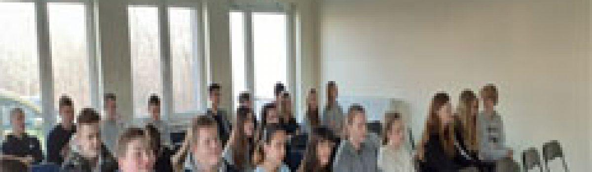 Wizyta uczniów Szkoły Podstawowej w Gdowie